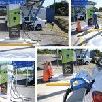 Usuarios de vehículos eléctricos ya cuentan con estación de recarga en Ruta 27